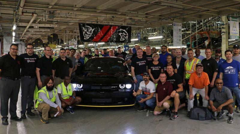 Dodge Challenger SRT Demon fattens up after thanksgiving