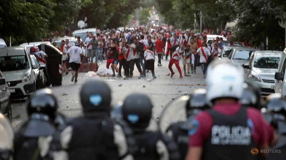 Libertadores final postponed after Boca bus attacked, players hurt