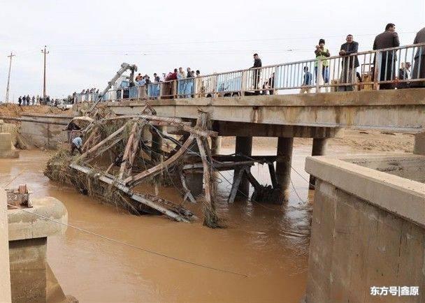 惨烈!伊拉克暴雨不断引发洪灾,2万多人受灾至少已酿21死!