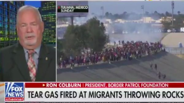 Fox news guest defends tear gas use on migrants: you can 'put it on your nachos'