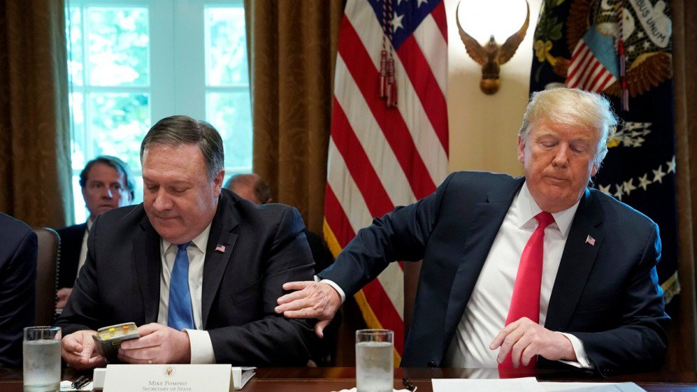 Donald Trump trashed Mike Pompeo's new aide as a 'major loser'