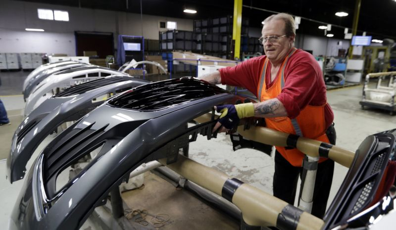 Many americans are giving trump the benefit of the doubt on manufacturing jobs