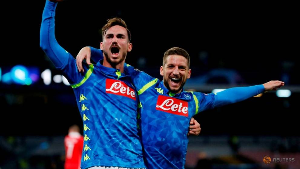 Napoli beat Red Star 3-1 with Mertens brace to stay top