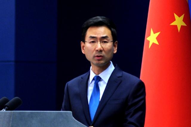 中国外交部:美挥舞制裁大棒于事无补