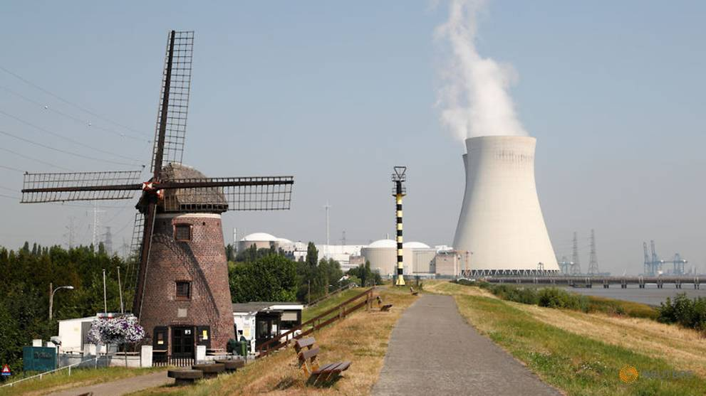 EU court adviser gives mixed view on Belgian nuclear reactors