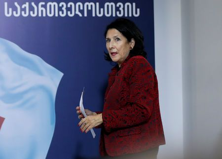 Osce says one side in georgian presidential election had 'undue advantage'