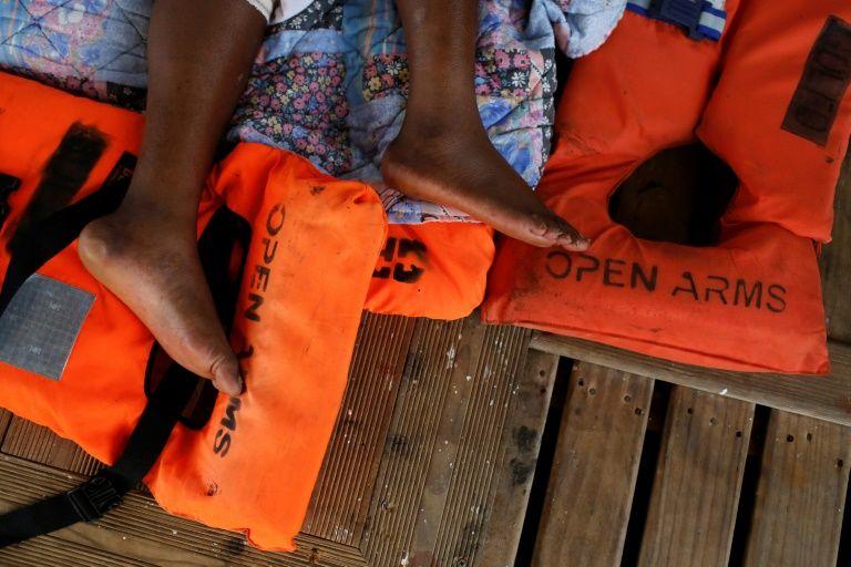 UN 'concerned' over 12 migrants stranded in mediterranean