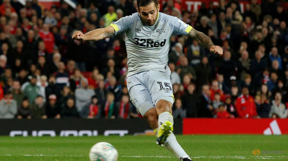 Derby's Johnson hit with FA charge over 'biting' incident