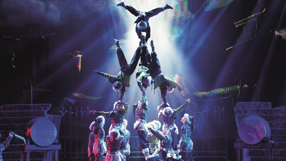 Blood, sweat and tears: behind the scenes of Chinese acrobatic extravaganza