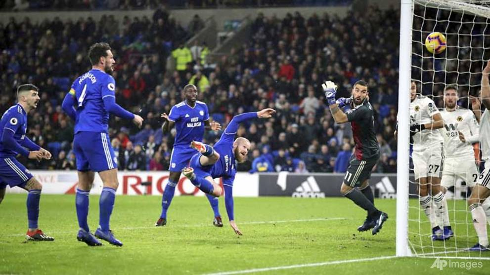 Football: Hoilett winner lifts Cardiff out of relegation zone