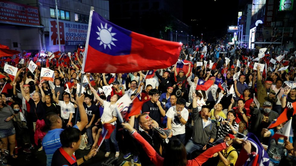 Taiwan's Tsai Ing-wen says no change to relations with mainland following local election defeat