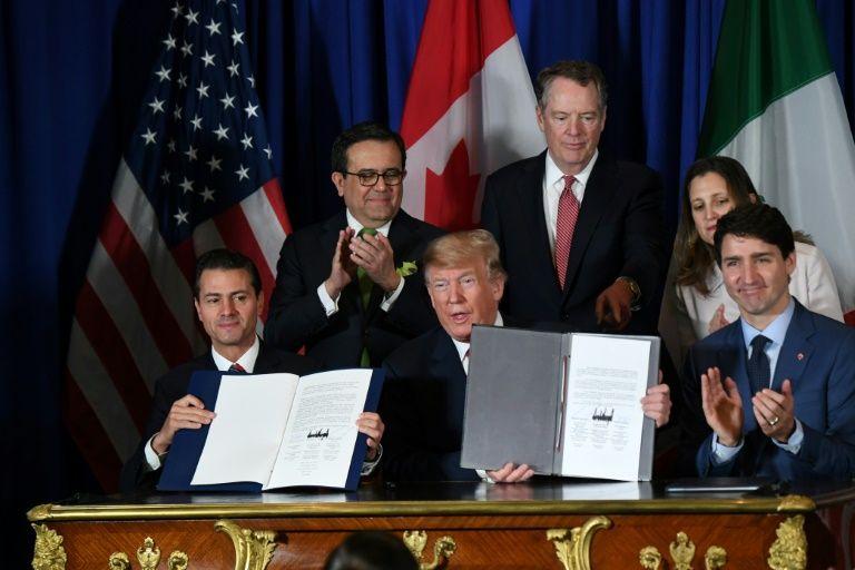 Trump says will formally terminate nafta soon