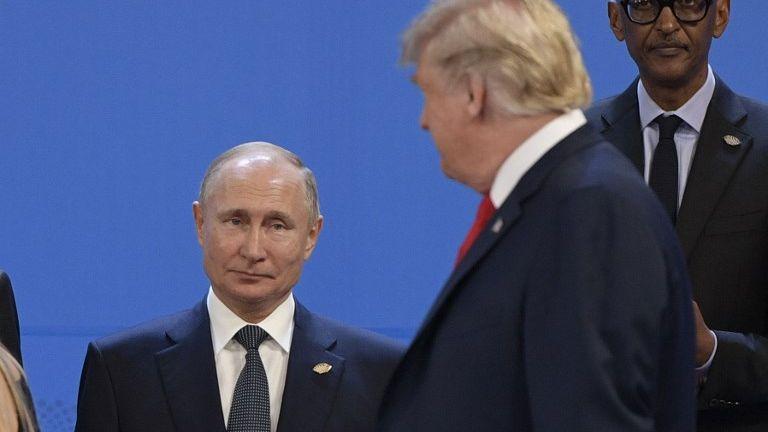 普京:美国退出《中程导弹条约》 或引发核战争