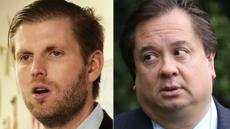 Eric Trump's 'utter disrespect' attack on george conway utterly backfires
