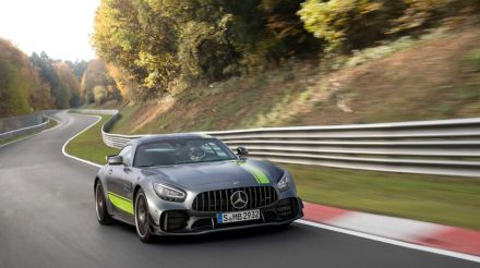 Hop onboard Mercedes-AMG GT R PRO for fast Nurburgring lap