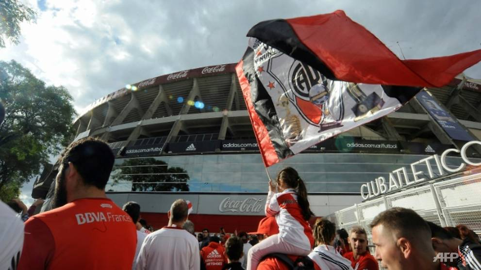 Football: River Plate confirm flight to Madrid for Libertadores final