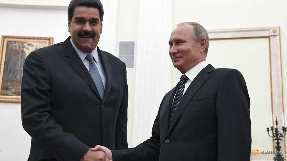 Russia's Putin, Venezuela's Maduro to discuss financial help for Caracas