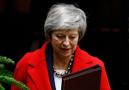 UK PM May's government faces contempt vote over Brexit legal advice