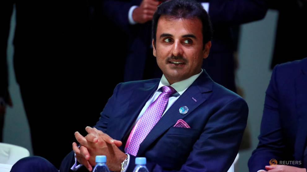 Qatar's emir receives invite from Saudi king to attend Gulf Arab summit