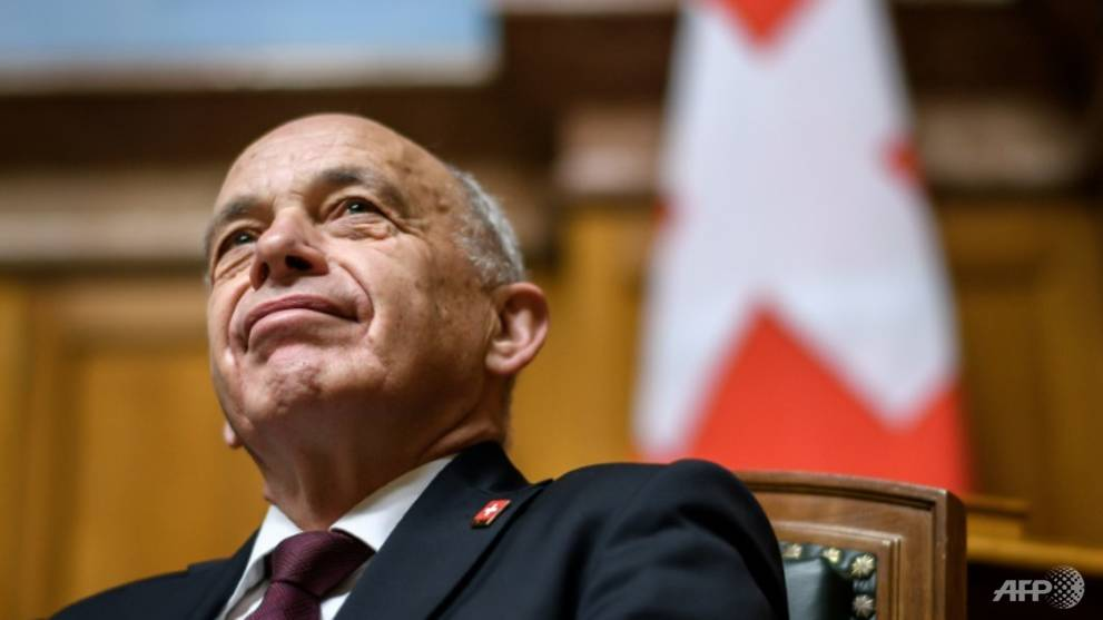 Swiss president and two new ministers elected