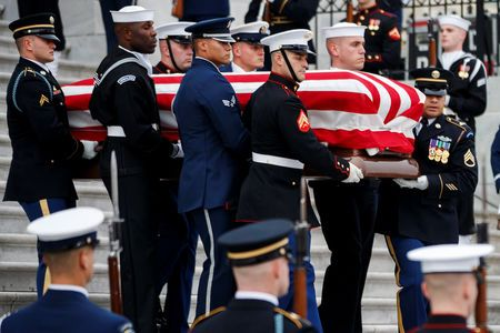 Former U.S. President george h.W. Bush to be remembered at houston funeral