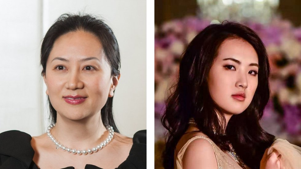 Sabrina Meng Wanzhou and Annabel Yao: Huawei founder's two daughters