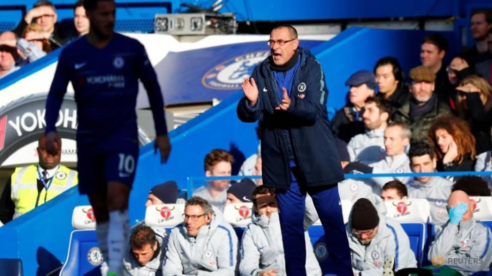 Biggest test for Sarri as stuttering Chelsea host City
