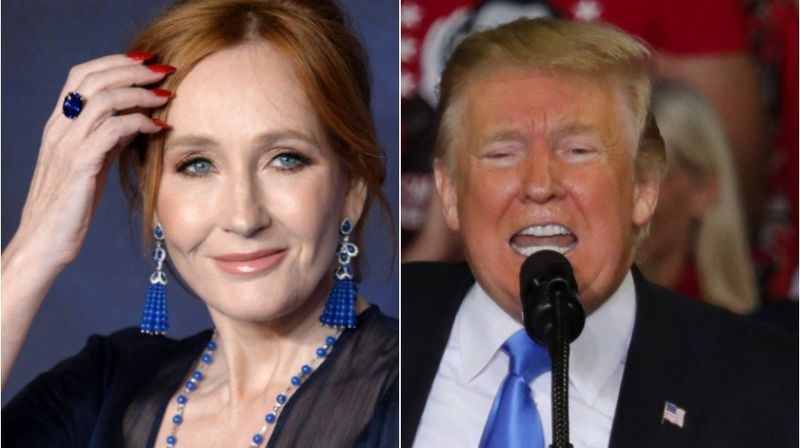 J.K. Rowling turns Donald Trump's latest Twitter rant into taunting character study