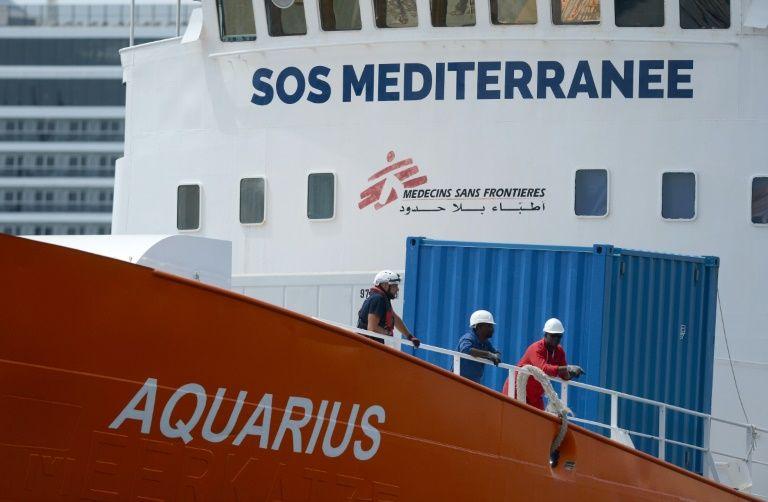UN urges more med rescue capacity after aquarius pullout