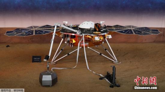 """快听!""""洞察号""""传回史上第一条来自火星的风声"""