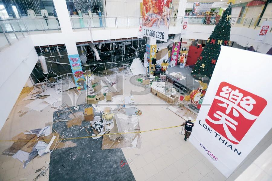Two blocks of CityOne Megamall reopen after gas leak incident