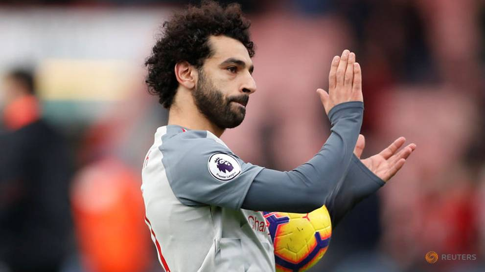 Football: Superb Salah treble at Bournemouth sends Liverpool to Premier League Top