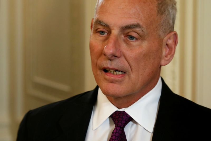 John kelly out as white house chief of staff by end of year