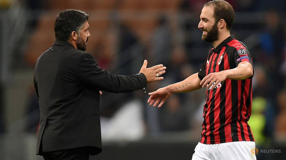 Milan focussed on Champions League spot not Inter - Gattuso