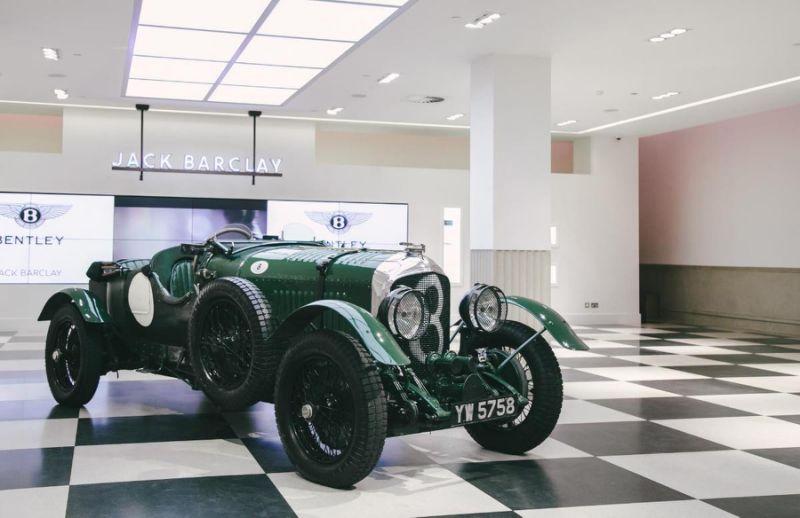 Brooklands-winning Bentley returns 'home' after 50 years