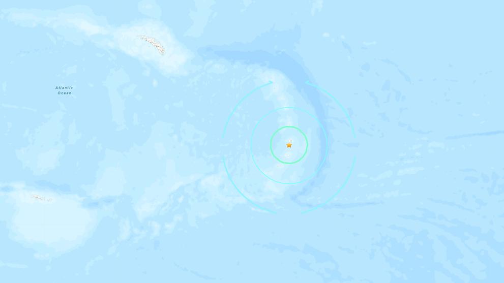 Magnitude 7.1 quake hits close to Antarctica: USGS