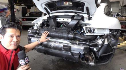 Porsche 911 GT2 RS: analysing the technical details