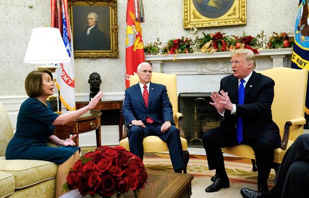 国会不给钱修边境墙?特朗普:美国政府这就关门
