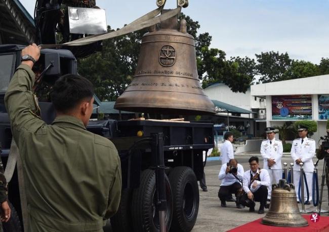 美国归还菲律宾三口大钟:1901年美军侵占菲时掠夺