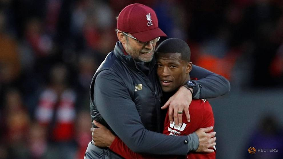 Football: Klopp keeps Liverpool feet firmly on the ground, says Wijnaldum