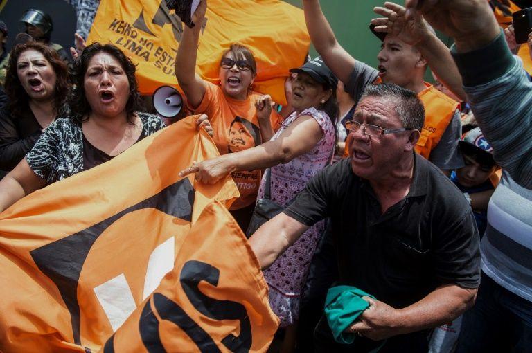 Appeal hearing for Peru's jailed fujimori set for Saturday