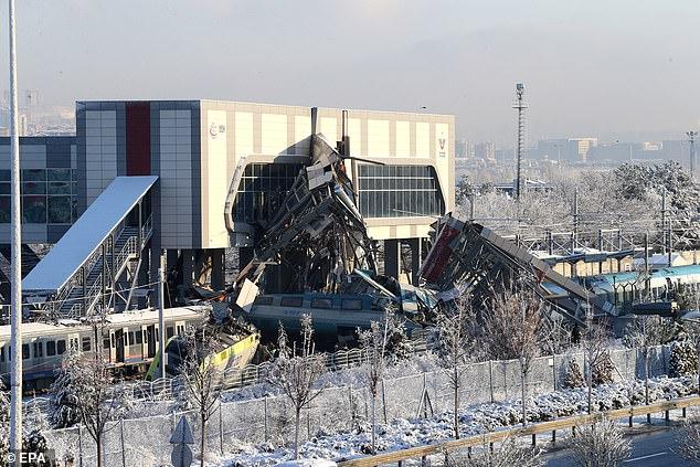 Nine dead and 47 injured in high-speed train crash in Turkish capital Ankara