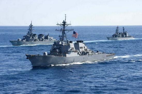 美国防部:美国维护在南海自由航行的权利