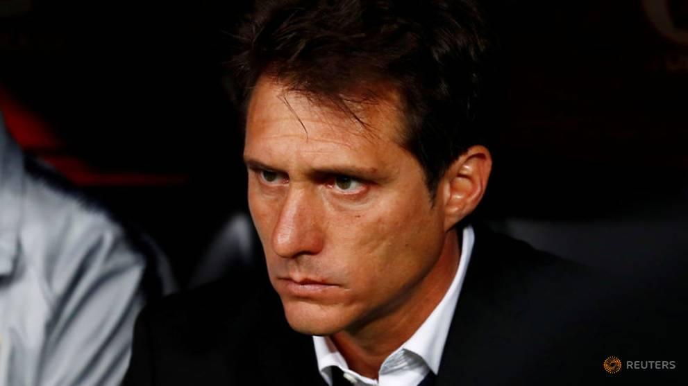 Boca coach Schelotto leaves after Libertadores final loss