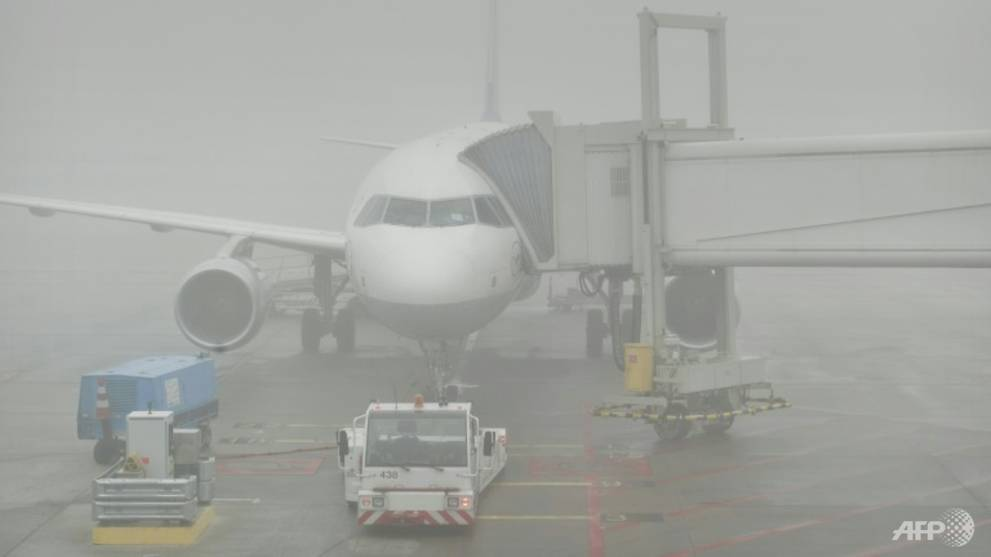 Heavy fog grounds flights in the Netherlands
