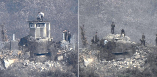 韩军证实:朝鲜11个哨所全部撤除 军事功能已丧失