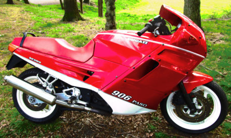 Buy the Ducati motorcycle Ferrari gave to Nigel Mansell