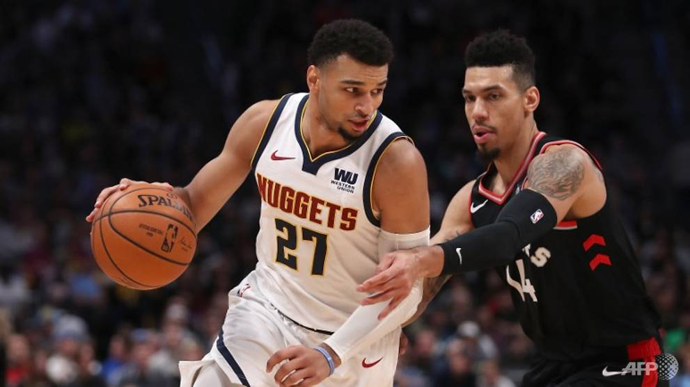 Basketball: Shorthanded Nuggets topple NBA-best Raptors