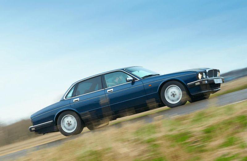 How badly did this Jaguar XJ40 fail its economy run?