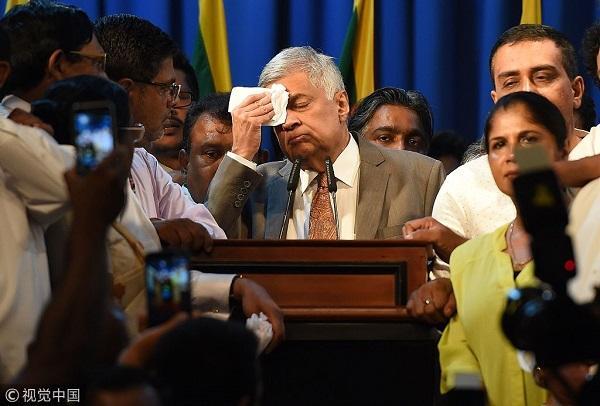 """斯里兰卡""""双总理""""僵局结束 """"亲印""""总理再上台"""
